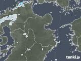 2020年08月06日の大分県の雨雲レーダー