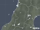 2020年08月06日の山形県の雨雲レーダー