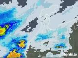 2020年08月07日の石川県の雨雲レーダー