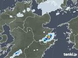 2020年08月07日の大分県の雨雲レーダー