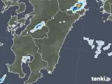 2020年08月07日の宮崎県の雨雲レーダー