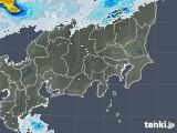 2020年08月08日の関東・甲信地方の雨雲レーダー