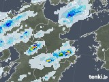 2020年08月08日の大分県の雨雲レーダー