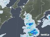 2020年08月09日の和歌山県の雨雲レーダー