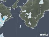 2020年08月10日の和歌山県の雨雲レーダー