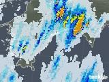 雨雲レーダー(2020年08月10日)