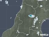 2020年08月10日の山形県の雨雲レーダー