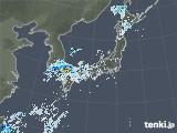 雨雲レーダー(2020年08月11日)