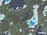 2020年08月11日の滋賀県の雨雲レーダー