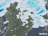 2020年08月11日の大分県の雨雲レーダー