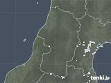 2020年08月11日の山形県の雨雲レーダー