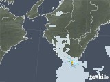2020年08月14日の和歌山県の雨雲レーダー