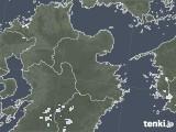 2020年08月14日の大分県の雨雲レーダー