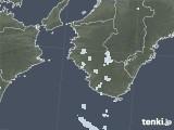 2020年08月15日の和歌山県の雨雲レーダー