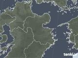 2020年08月15日の大分県の雨雲レーダー