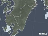 2020年08月15日の宮崎県の雨雲レーダー
