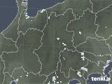 2020年08月16日の長野県の雨雲レーダー