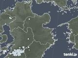2020年08月16日の大分県の雨雲レーダー