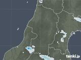 2020年08月16日の山形県の雨雲レーダー