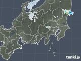 2020年08月17日の関東・甲信地方の雨雲レーダー