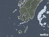 2020年08月17日の鹿児島県の雨雲レーダー