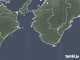 2020年08月18日の和歌山県の雨雲レーダー
