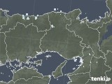 雨雲レーダー(2020年08月19日)