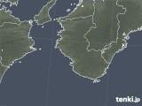 2020年08月19日の和歌山県の雨雲レーダー
