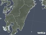 2020年08月19日の宮崎県の雨雲レーダー