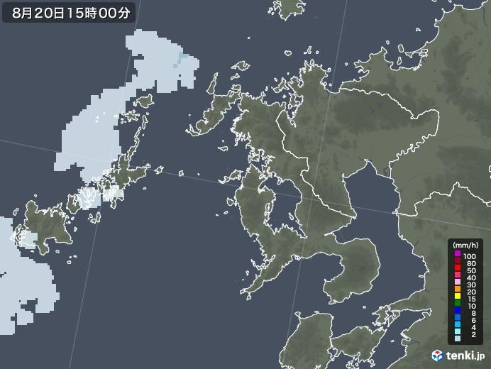 長崎 雨雲 レーダー