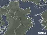 2020年08月20日の大分県の雨雲レーダー