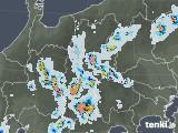 2020年08月21日の長野県の雨雲レーダー
