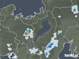 2020年08月21日の滋賀県の雨雲レーダー