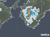 2020年08月21日の和歌山県の雨雲レーダー