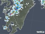 2020年08月21日の宮崎県の雨雲レーダー