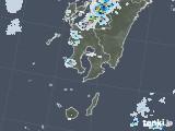 2020年08月21日の鹿児島県の雨雲レーダー