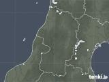 2020年08月21日の山形県の雨雲レーダー