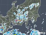 2020年08月22日の関東・甲信地方の雨雲レーダー