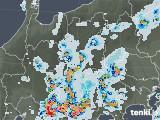 2020年08月22日の長野県の雨雲レーダー
