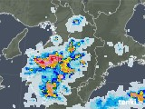 雨雲レーダー(2020年08月22日)