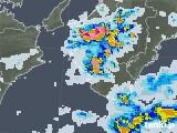 2020年08月22日の和歌山県の雨雲レーダー