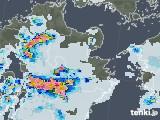 2020年08月22日の大分県の雨雲レーダー