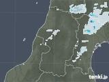 2020年08月22日の山形県の雨雲レーダー