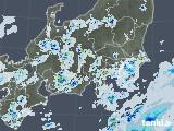 2020年08月23日の関東・甲信地方の雨雲レーダー