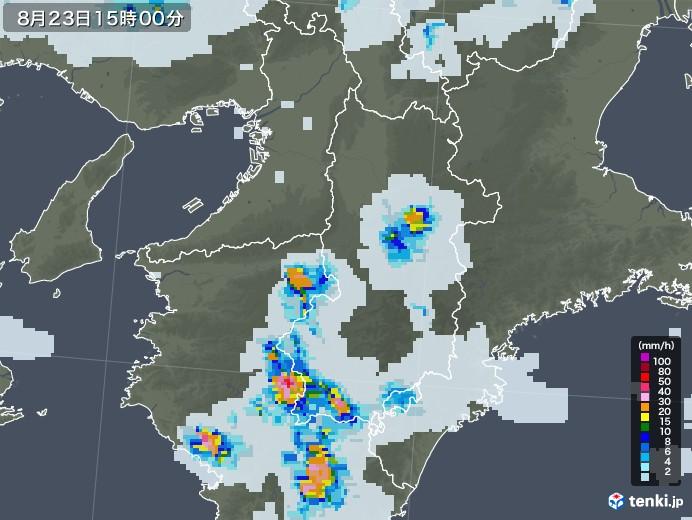 レーダー 奈良 天気 雨雲 奈良県橿原市の雨雲レーダーと各地の天気予報