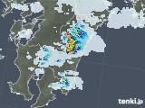 2020年08月23日の宮崎県の雨雲レーダー