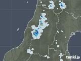 2020年08月23日の山形県の雨雲レーダー