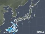 雨雲レーダー(2020年08月24日)