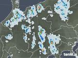 2020年08月24日の長野県の雨雲レーダー