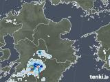 2020年08月24日の大分県の雨雲レーダー